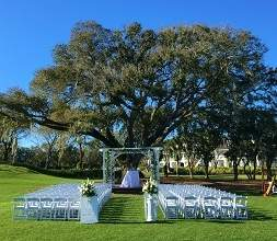 Tuscawilla Country Club wedding ceremony