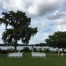Capen House wedding ceremony