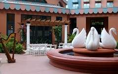 Disney Swan and Dolphin wedding
