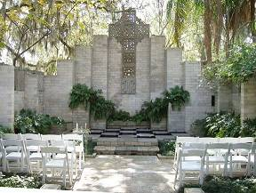 Maitland Art Center Mayan Chapel wedding