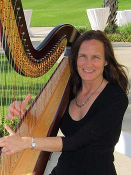 wedding harpist Central Florida